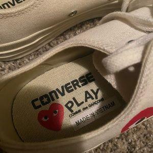 Converse Shoes - Men's Comme Des Garçon Play converse low top